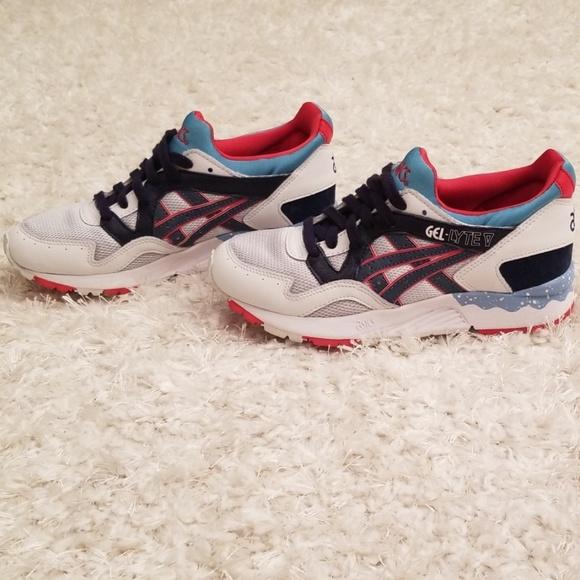 Details about H5Y1L 1050 NEW Asics Onitsuka Tiger Gel Lyte V Soft Grey Navy Men's Shoes